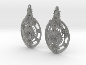 Botanika Mechanicum Earrings in Metallic Plastic