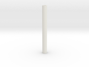 blanks 8mm predrilled in White Strong & Flexible: Extra Small