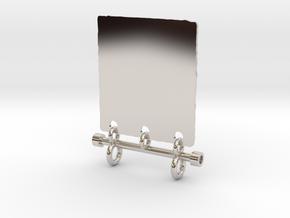 Radiant Light Yoga Pendant in Platinum