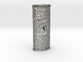 Dragon Eye Lighter Case in Natural Silver