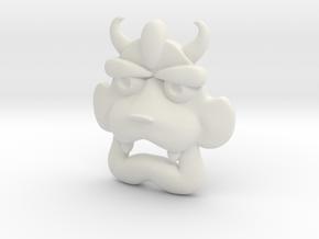 Malon's Pendant in White Natural Versatile Plastic