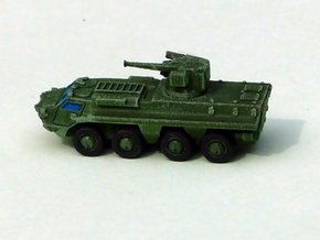Ukranian APC BTR-4 Skval Variant 1/285 6mm in Smooth Fine Detail Plastic