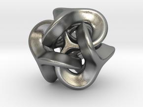 Trilio - Earzi - 20mm in Natural Silver