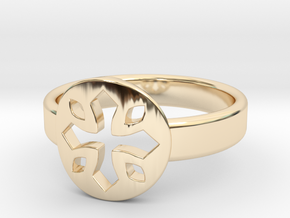 Tayliss Ring Size 6 in 14K Yellow Gold