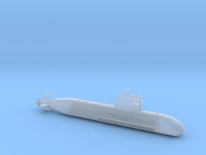 1/700 Scorpene-class submarine in Frosted Ultra Detail