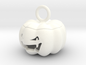 jack o'lantern pendant in White Processed Versatile Plastic