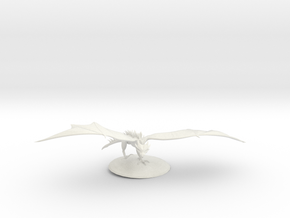 Wyvern  in White Natural Versatile Plastic