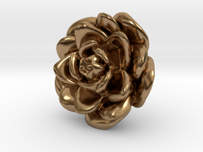 Rose Motif New in Natural Brass