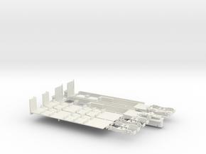 Fahrgestell Rheinbahn 4200 Alu B-Wagen in White Strong & Flexible