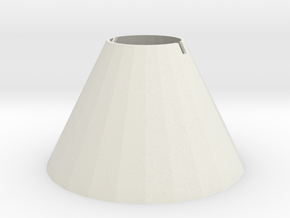 Cone stand, white 2in height in White Natural Versatile Plastic