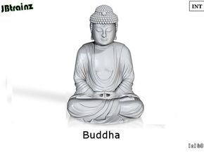 Buddha (1:160) in Smooth Fine Detail Plastic