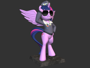 My Little Pony - Twilight CommanderEasyglider 20cm in Full Color Sandstone