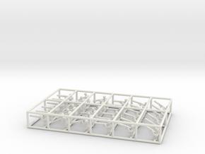 1/144 WWI Observers [×36]: Parabellum in White Natural Versatile Plastic