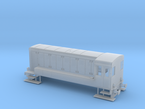 Reeks 84 - Type 250-1 NMBS / SNCB HO 1/87 in Smooth Fine Detail Plastic