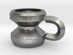 128902383280f9uldf Mug in Raw Silver