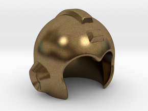 Mega Helmet in Natural Bronze