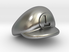 L-Plumber Cap in Natural Silver
