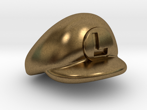 L-Plumber Cap in Natural Bronze