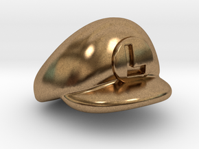 L-Plumber Cap in Natural Brass