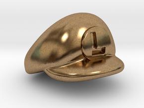L-Plumber Cap in Natural Brass