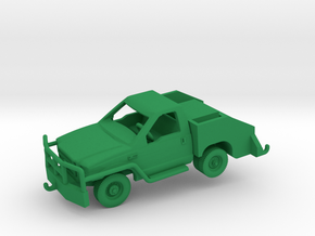 1/144 F350 Bobtail Tow Truck (finished) in Green Processed Versatile Plastic: 1:144