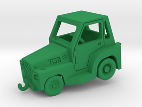 1/144 TUG MR Aircraft Tow Tractor (finished) in Green Processed Versatile Plastic