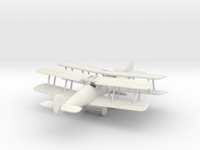 1/144 Sopwith Snipe x 2 in White Natural Versatile Plastic
