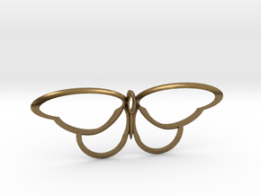 flutterfly m3 in Natural Bronze