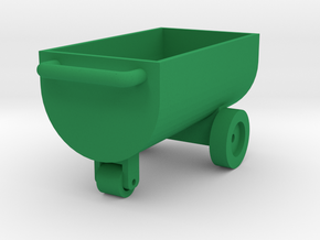 Feed Wagon Farmmodel 1/32 in Green Processed Versatile Plastic