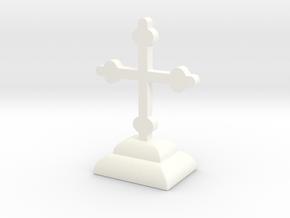 Desimir Cross 1 in White Processed Versatile Plastic