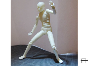 1/20 scale ALPHA EGO BJD kit, Male V02 in Frosted Ultra Detail