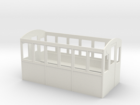 Wagenkasten in White Natural Versatile Plastic