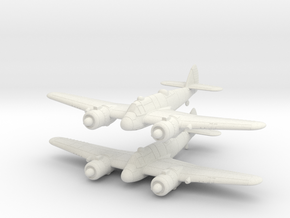 1/200 Bristol Beaufighter Mk.Ic (x2) in White Natural Versatile Plastic