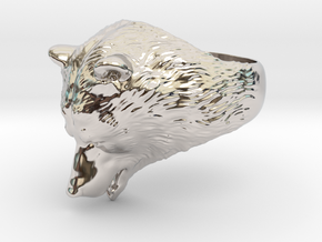 Bear ring in Platinum: 9 / 59