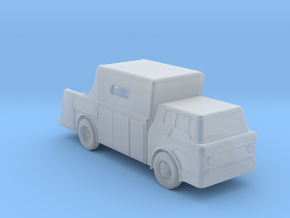 Ford C-Cab FireEngine - Zscale in Smooth Fine Detail Plastic