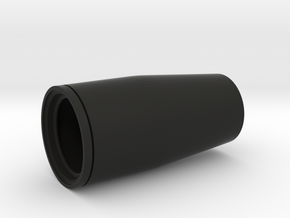 4X20 Scope Front Lens Housing in Black Natural Versatile Plastic