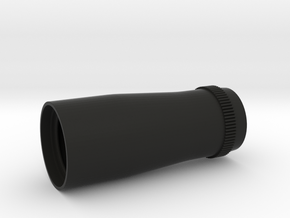 4X20 Scope Rear Lens Housing in Black Natural Versatile Plastic