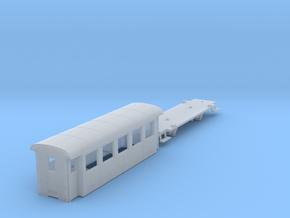 ZB (H0e) - 5-Fenster-Personenwagen B19 (neu) in Frosted Ultra Detail