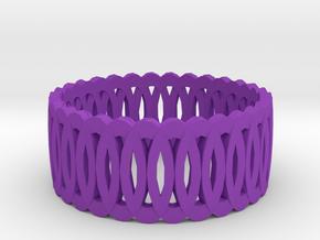 Ring7 in Purple Processed Versatile Plastic