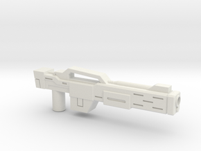 Rifle (Detailed) in White Strong & Flexible
