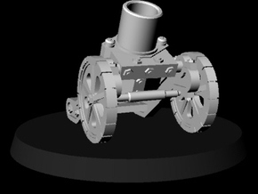 Steampunk Mortar MK5 in Smooth Fine Detail Plastic