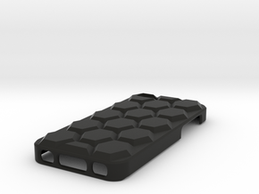 iPhone 5c Hex Case in Black Natural Versatile Plastic