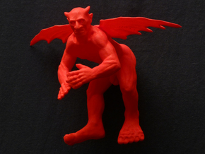 Flying devil  in Red Processed Versatile Plastic