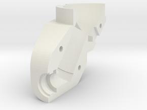 British Gunsight Light Holder Rh Side in White Natural Versatile Plastic
