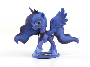 My Little Pony - Luna S2 Posed (≈70mm tall) in Full Color Sandstone