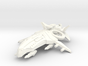 Zen Dazi Riv'na Cruiser in White Strong & Flexible Polished