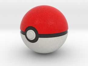 Original Poké Ball 8cm in diameter. in Full Color Sandstone