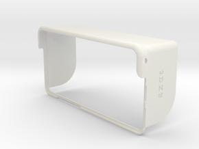 iPhone 6 Plus Hood Pull-over in White Natural Versatile Plastic