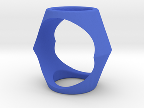 Ring17(17mm) in Blue Processed Versatile Plastic