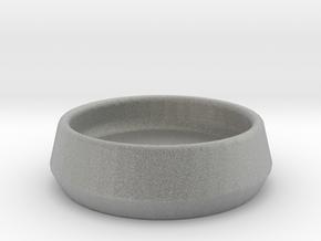 ServeConeDoubleDish-10-3 in Metallic Plastic